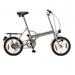2016 new fashion silver folding bike
