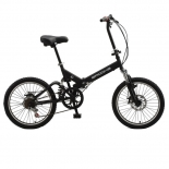 Full suspension folding bicycle